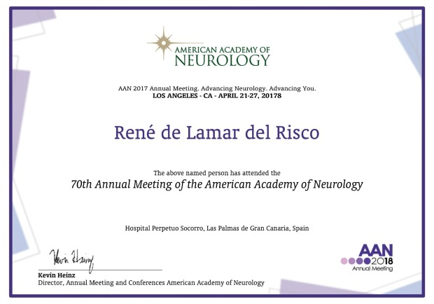 Neurología AAN 2018
