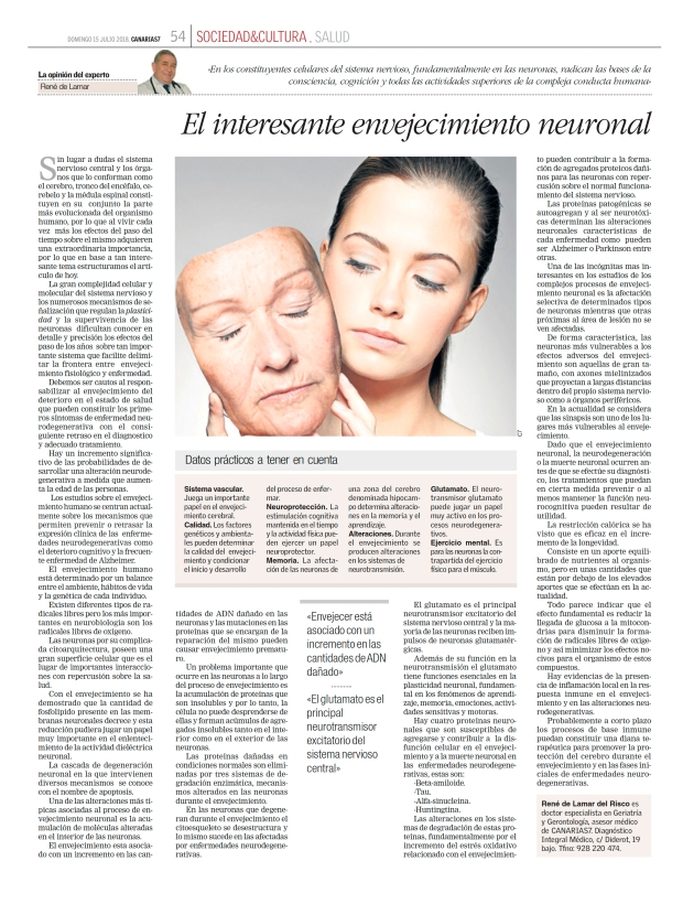 envejecimiento neurodegenerativo